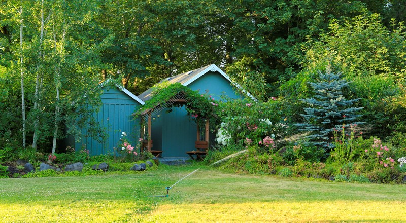 Tijdelijke verhuur tuinhuis